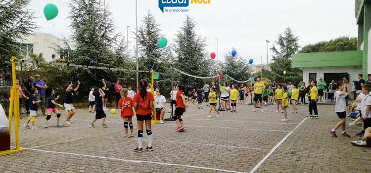 """Sport e divertimento al II° torneo di mini-volley """"Città di Noci"""""""