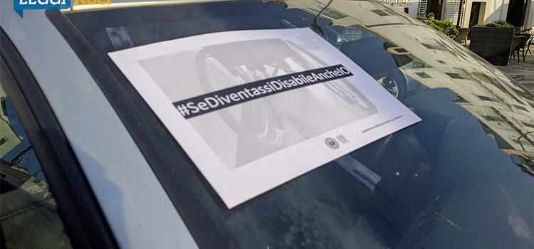 """""""#SeDiventassiDisabileAncheIo"""", giro in carrozzina per sensibilizzare alla disabilità"""
