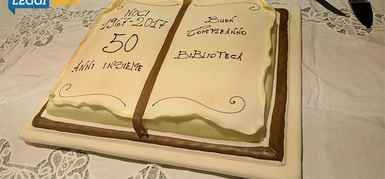 """""""Buon compleanno Biblioteca!"""", 50 anni al servizio della comunità nocese"""