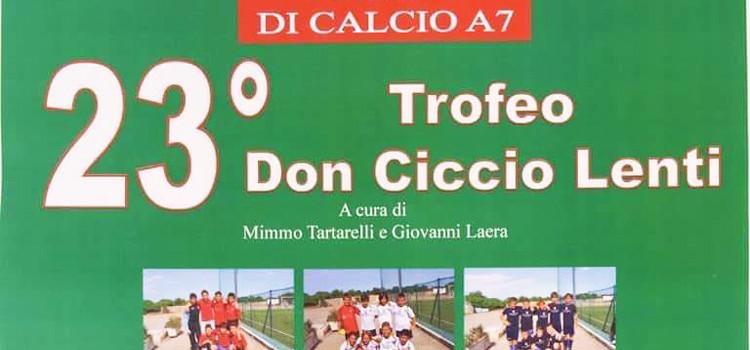 """Annullato il """"Don Ciccio Lenti"""" 2017 categoria Open"""
