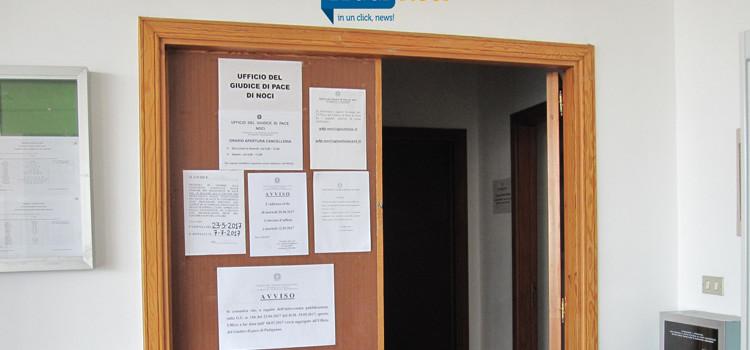 L'ufficio del Giudice di Pace viene accorpato a Putignano