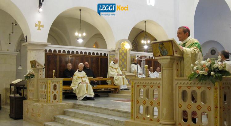Madonna della Scala: la comunità monastica festeggia San Benedetto con Mons Intini
