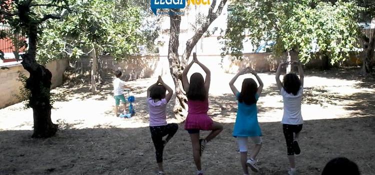 La natura è parte dello yoga