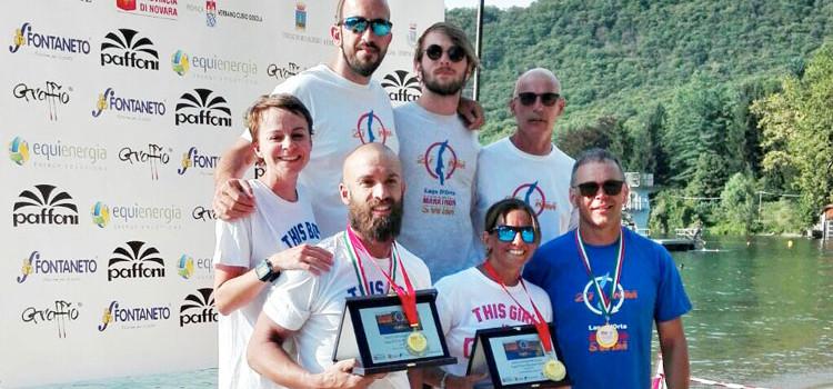 Marathon Swim, tre nocesi compiono l'impresa di 27Km a nuoto