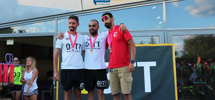 Triathlon Super Sprint: vince Roncone, Nest migliore squadra
