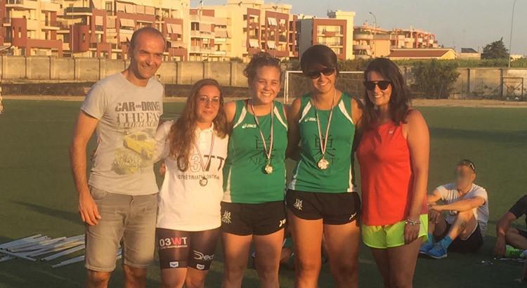 Otrè Triathlon, podio in rosa