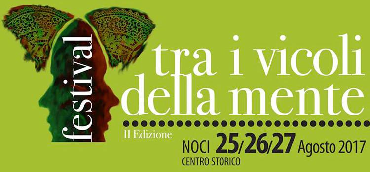 """""""tra i vicoli della mente"""": il programma del festival culturale sarà svelato lunedì 21 agosto"""