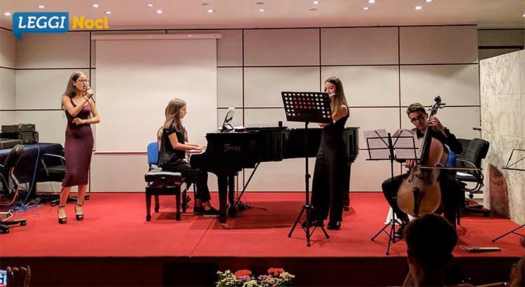 Gli allievi di Rosa Tinelli concludono l'anno con un saggio di Pianoforte&Violoncello