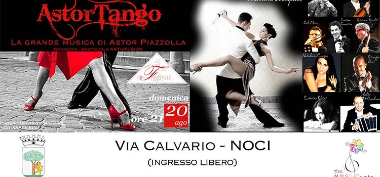 Noci ricorda Astor Piazzolla con l'evento Astor-Tango