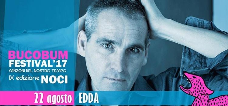 """Edda apre la nona edizione del """"BucoBum Festival"""""""