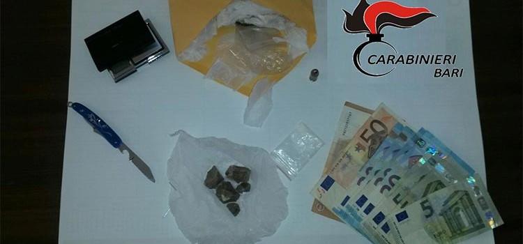 Carabinieri arrestano insospettabile spacciatore nocese