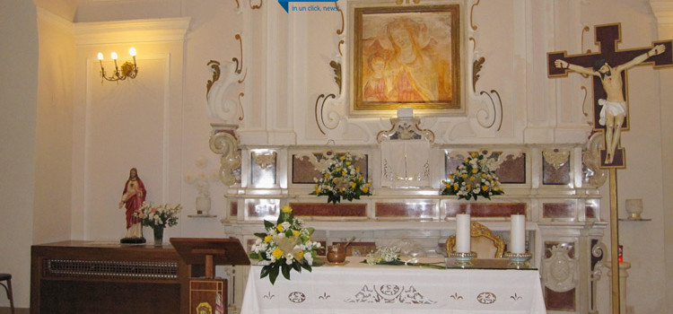 Furto alla Madonna della Croce, sparito candeliere elettronico