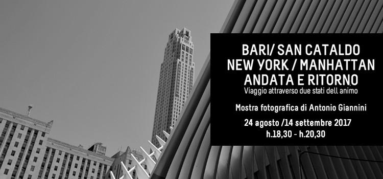 Bari-New York andata e ritorno