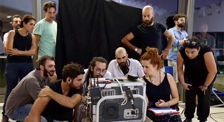 """Noci protagonista di """"Acquario"""", il cortometraggio esordio di Lorenzo Puntoni"""