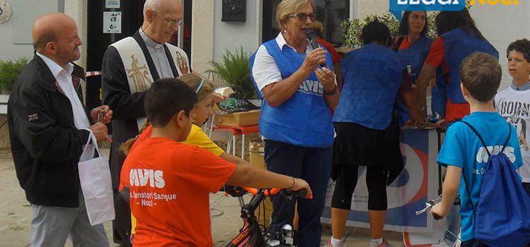 A spasso con l'Avis: ciclo passeggiata per sensibilizzare alla donazione