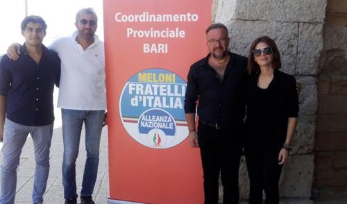 """FdI-An: """"Ci candidiamo ad essere il primo partito di centrodestra in Puglia"""""""