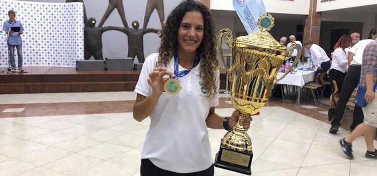Ornella Tosta Villino campionessa del mondo di pesca