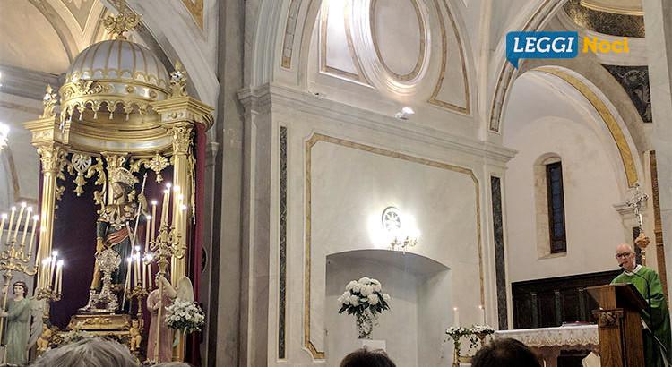 """Padre Abate Giustino Pege all'Ottava del patrono: """"Come San Rocco siamo viandanti del cuore"""""""