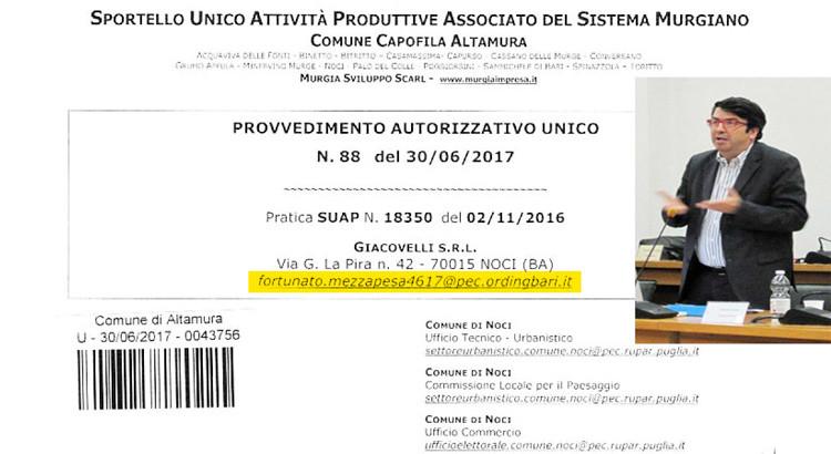 Scandalo rotatoria: la mail del consigliere comunale spunta negli atti autorizzativi