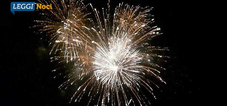 Fuochi d'artificio: pro o contro?
