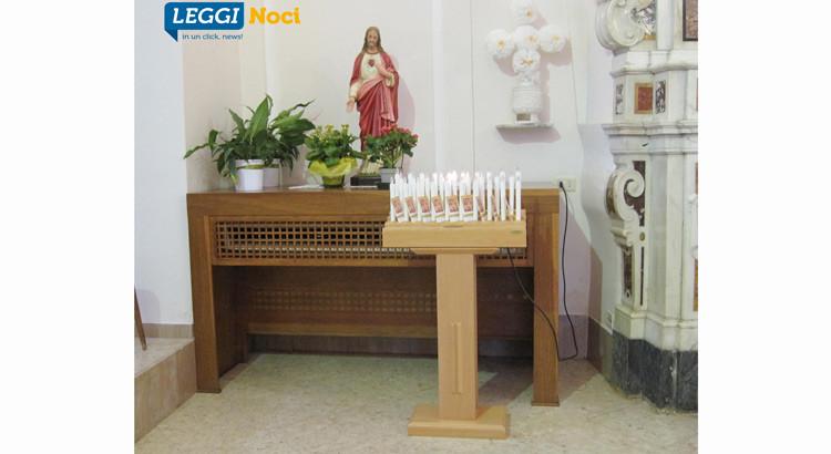 Nuovo candeliere per la Madonna della Croce