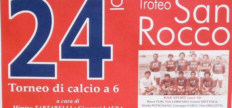 Al via il 24° Trofeo San Rocco