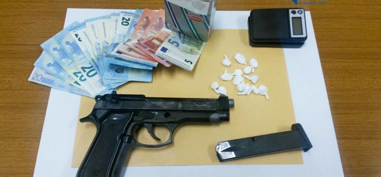 "Droga e pistola, arrestato pusher ""milanese"""