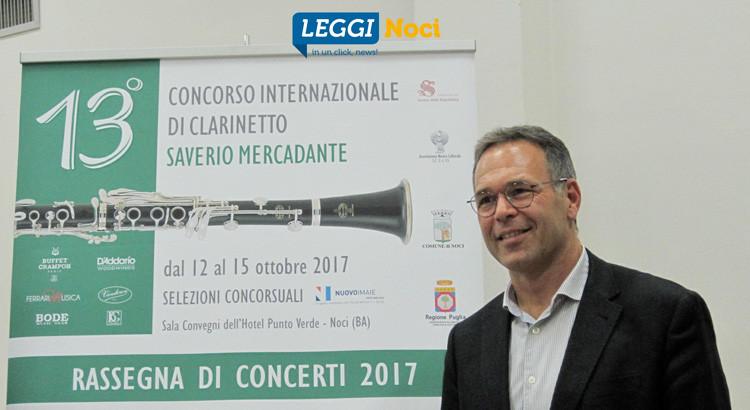 13° Saverio Mercadante: clarinettisti da tutto il mondo e premio da 20mila euro