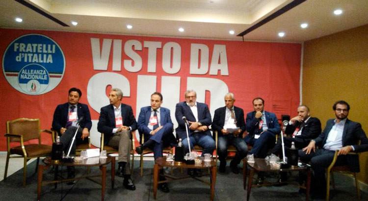 Visto da Sud: FdI-An per l'unità nazionale