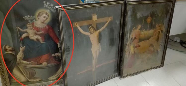 GdF: Opere d'arte rubate a Noci scoperte a Fasano