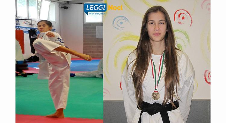 giada-lippolis-karateka-calcio-medaglia