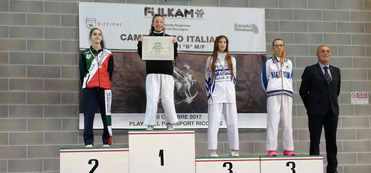 Karate: Lippolis bronzo ai Campionati Italiani