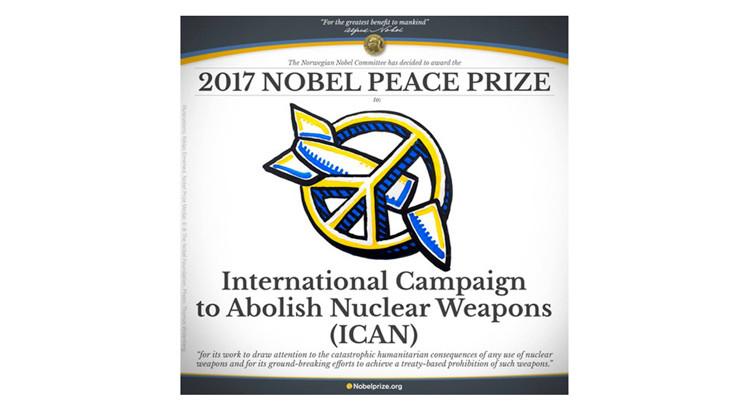 Premio Nobel per la Pace a ICAN, l'Italia ritratti la sua posizione