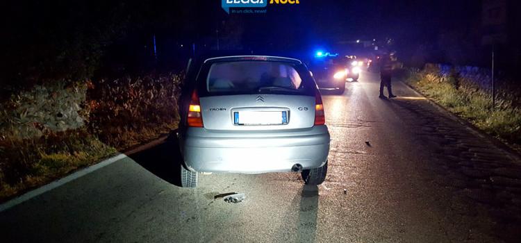 Incidente sulla Noci-Alberobello, ritirata patente a nocese