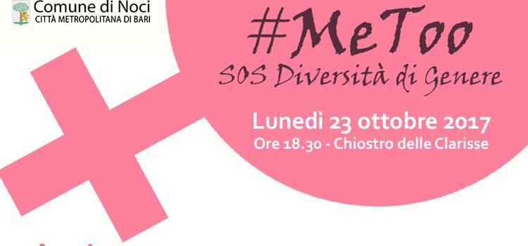 #MeToo SOS Diversità di genere