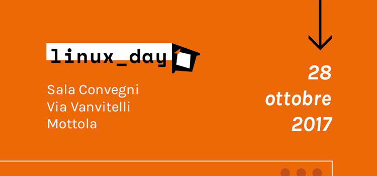 A Mottola il Linux Day 2017