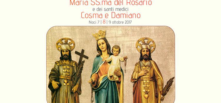 Tutto pronto per la festa dei Santi Medici e Maria Ss.ma del Rosario