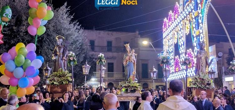 I Santi Medici e Maria SS.ma del Rosario: Noci in festa tra tradizione, colori e musica