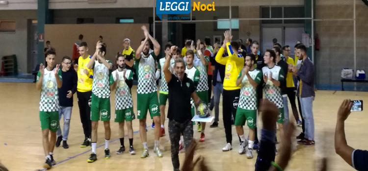 Pallamano: vittoria biancoverde nell'esordio casalingo