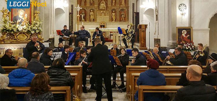 La banda cittadina festeggia Santa Cecilia