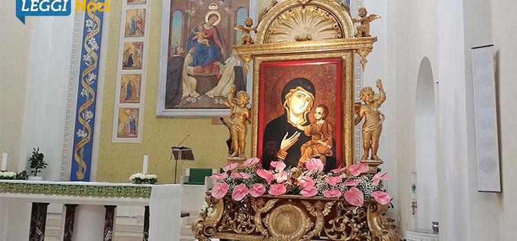 """Le """"visite"""" nelle parrocchie nocesi della Madonna della Madia"""