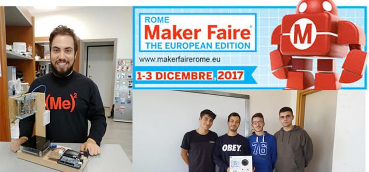 L'Agherbino alla Maker Faire di Roma