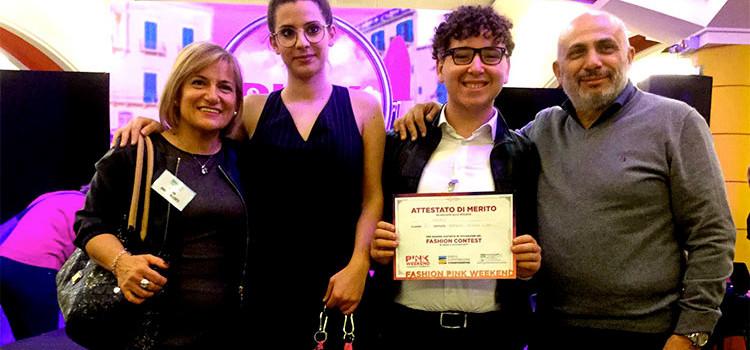 """Agherbino"": Mariano Boccardi premiato al Pink Weekend di Casamassima"