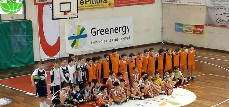 "Basket School Noci al 2° Torneo ""Stelle d' Autunno"" di Castellaneta"