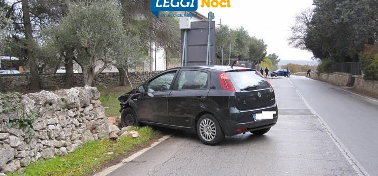 Carambola sulla provinciale, coinvolte due auto
