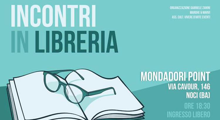 """Al via la rassegna """"Incontri in Libreria"""""""