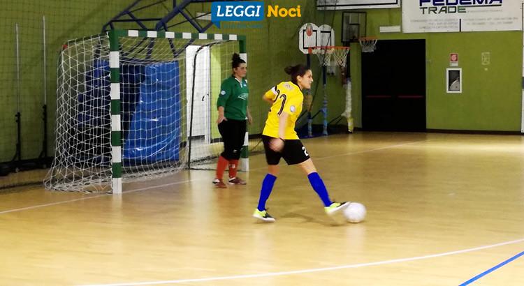 Futsal femminile: Noci messo K.O. dalla capolista