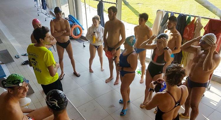 La Otrè Triathlon Team si allena per il 2018