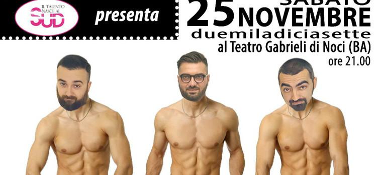 """""""Ci pensiamo Noi!"""" Il Talento nasce al Sud torna al Gabrieli"""