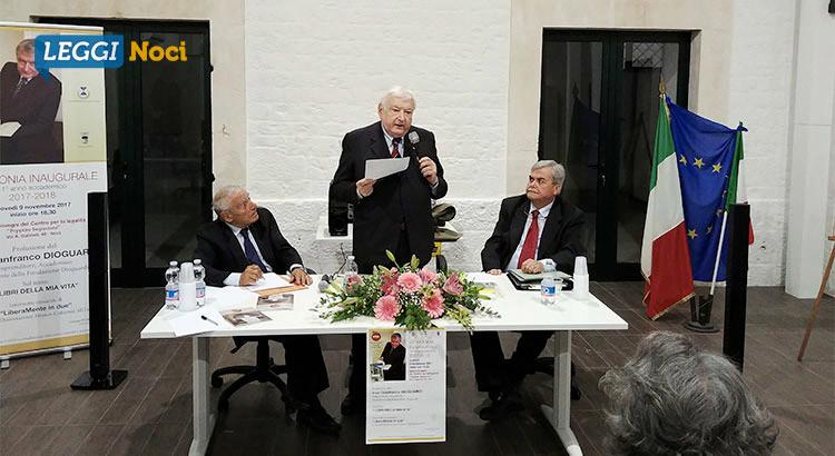 UTEN: Dioguardi inaugura l'Anno Accademico 2017/2018